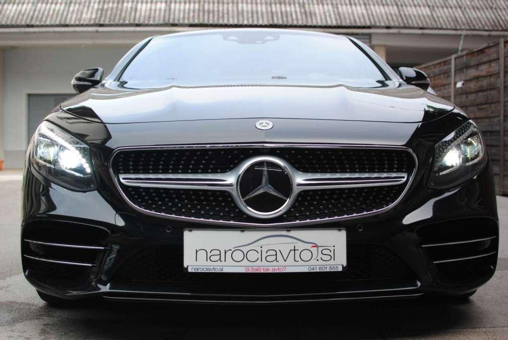 Mercedes-Benz S560 Coupe: novi DMV bo samo 1.791 EUR