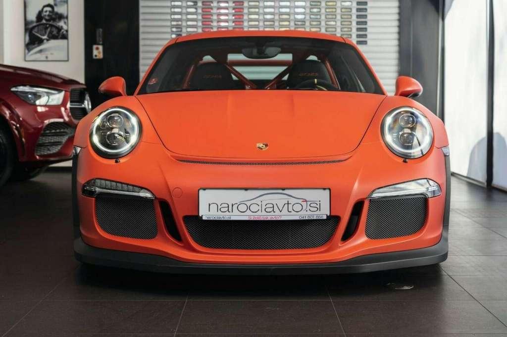 Porsche Carrera GT3 RS: novi DMV bo samo 5.398 EUR
